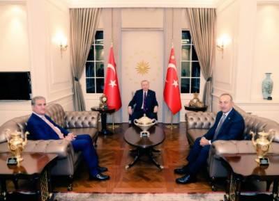 پاکستان، ترکی کا فلسطینیوں پرظلم کیخلاف آواز اٹھانے کا فیصلہ