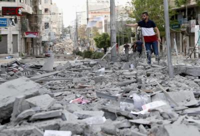 غزہ: اسرائیل کے تازہ فضائی حملوں میں مزید7بے گناہ فلسطینی شہید
