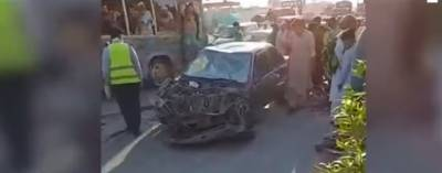 پشاور: رنگ روڈ پر ٹریفک حادثے میں 3 افراد جاں بحق