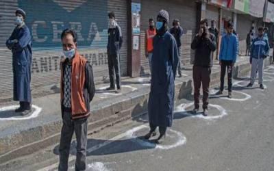 مقبوضہ کشمیر میں کرونا وائرس بےقابو،مزید45افراد جاں بحق