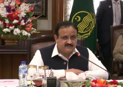 سندھ کی جانب سے پنجاب کوزیادہ پانی ملنے کی شکایت درست نہیں، پانی کو سیاسی مسئلہ بنانا کسی بھی طرح قومی مفاد میں نہیں:وزیراعلیٰ پنجاب عثمان بزدار