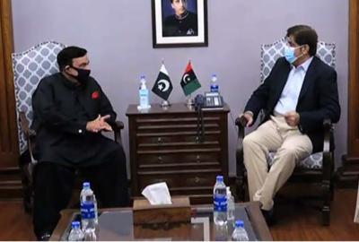 ہم مل کرکام کریں گے ، وفاقی وزیرداخلہ کو سندھ میں خوش آمدید کہتاہوں ،وزیراعلیٰ سندھ
