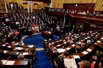 اسرائیل نے جبری طور پر فلسطینیوں کی زمین پر قبضہ کیا ہوا ہے۔ آئرش پارلیمنٹ