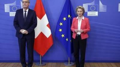 سوئٹزر لینڈ کا یورپی یونین سے تعاون کا معاہدہ ختم