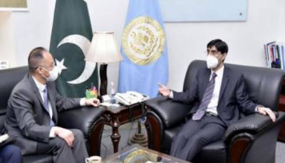 پاکستان اورچین خطے میں امن اورترقی کیلئے اپنی کوششوں کویکجاکررہے ہیں:معیدیوسف