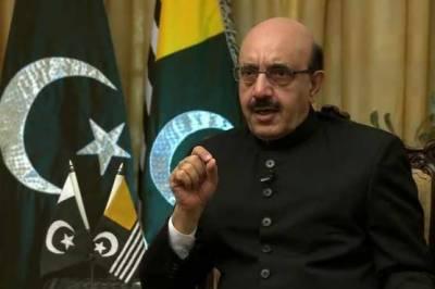 کشمیر کے حل کی چابی نیویارک میں نہیں بلکہ واشنگٹن میں ہے۔ سردار مسعود خان