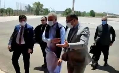 وزیر خارجہ مخدوم شاہ محمود قریشی عراق کے تین روزہ دورے پر روانہ