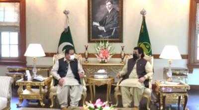 وزیر اعلیٰ پنجاب عثمان بزدار سے ڈپٹی سپیکر قومی اسمبلی قاسم خان سوری کی ملاقات, پی ڈی ایم کا غیر فطری اتحاد اب مکافات عمل کا شکار ہو کراپنے انجام کو پہنچ چکا ہے