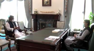 وزیراعظم سے وزیر بحری امور علی حیدر زیدی کی ملاقات, پیشرفت سے وز یر ا عظم کو آگاہ کیا