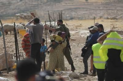 مغربی کنارے میں فلسطینی گھروں سے محروم ہوگئے