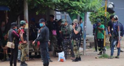 میانمار،باغیوں کیساتھ جھڑپوں میں 80 فوجی ہلاک