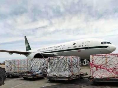 پی آئی اے کا خصوصی طیارہ 10 لاکھ سائنو فارم ویکسین لیکر پاکستان پہنچ گیا