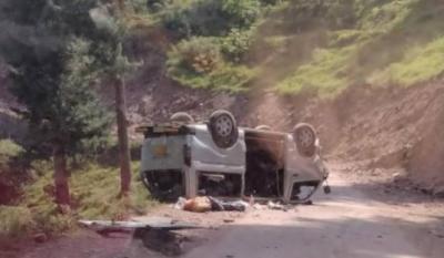 مانسہرہ : گاڑی کھائی میں گرنے سے 7 افراد جاں بحق، 3 بچے زخمی