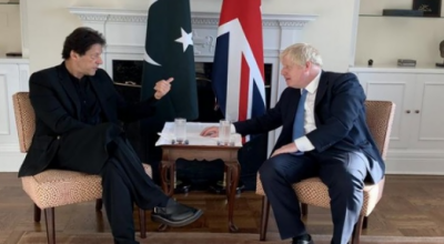 وزیراعظم کا برطانوی ہم منصب سے ٹیلی فونک رابطہ, دوطرفہ تعلقات اور خطے کی صورتحال پر تبادلہ خیال