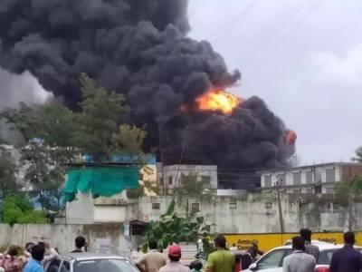 بھارت : کیمیکل فیکٹری میں آتشزدگی سے 18 افراد ہلاک