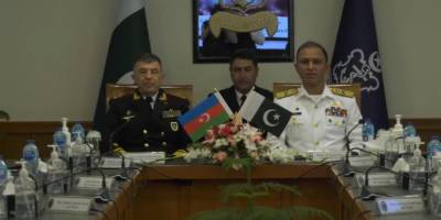 سربراہ پاک بحریہ امجد خان نیازی سے کمانڈر آذربائیجان نیول فورسز کی ملاقات