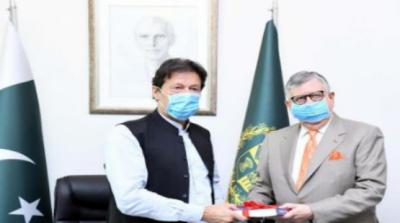 وزیر خزانہ شوکت ترین کیوزیر اعظم عمران خان سے ملاقات