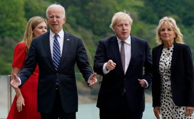 برطانوی وزیر اعظم بورس جانسن نے امریکہ برطانیہ تعلقات کو لازوال قرار دیدیا