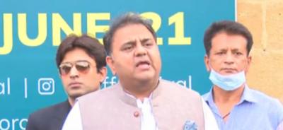 مراد علی شاہ کراچی میں پانی کے بحران کے ذمہ دار ہیں: فواد چودھری