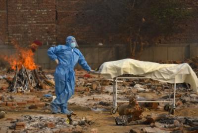 کوروناوائرس : بھارت میں ایک دن میں 4000 سے زائد ہلاکتیں