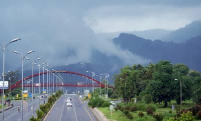 وفاقی دارالحکومت سمیت ملک کے مختلف علاقوں میں بارش موسم خوشگوارہوگیا۔