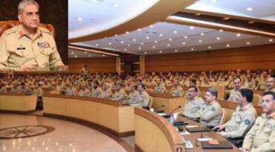 آرمی چیف کی صدارت میں فارمیشن کمانڈر ز کی دو روزہ کانفرنس, کور کمانڈرز ، پرنسپل سٹاف افسروں اور فارمیشن کمانڈرز کی شرکت