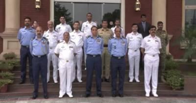 بحری سرحدوں کی حفاظت کیلئے پاکستان نیوی کا کردار قابل تحسین ہے، ایئر چیف