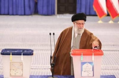 ایران کے صدارتی انتخابات، خامنہ ای نے ووٹ کاسٹ کیا