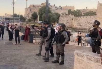 مقبوضہ بیت المقدس:اسرائیلی آبادکاروں کی جانب سے قبلہ اول کی بے حرمتی