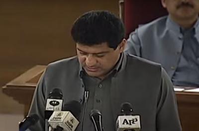 بلوچستان اسمبلی: شدید احتجاج کے باوجود مالی سال 22-2021 کا بجٹ پیش