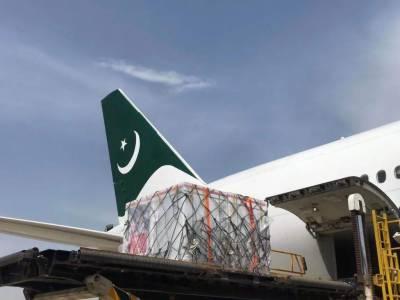 کورونا ویکسین کی قلت، پی آئی اے کا طیارہ 15 لاکھ خوراکیں لیکر اسلام آباد پہنچ گیا