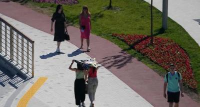 دنیا کا سرد تیرین شہر گرمی کی لپیٹ میں, ماسکو میں گرمی کا 120 سال کا ریکارڈ ٹوٹ گیا