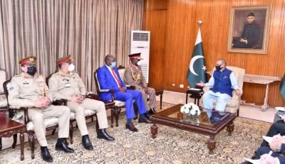 پاکستان کینیا کے ساتھ اپنے تعلقات کو انتہائی قدر کی نگاہ سے دیکھتا ہے، صدر مملکت