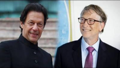 وزیراعظم عمران خان کا بل گیٹس سے ٹیلیفونک رابطہ