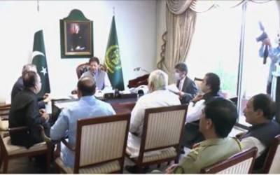وزیرِ اعظم سے ارکانِ قومی اسمبلی کی ملاقات