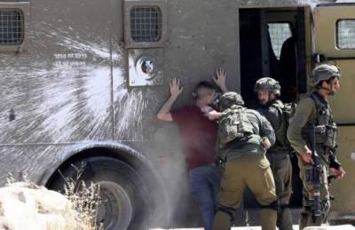 اسرائیلی فوج کی دہشتگردانہ کارروائیاں:غرب اردن سےمتعدد فلسطینیوں کو گرفتار کرلیا۔