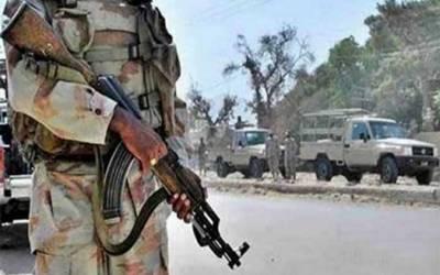 سبی: دہشتگردوں کی ایف سی کی گاڑی پر فائرنگ،پاک فوج کے 5 جوان شہید