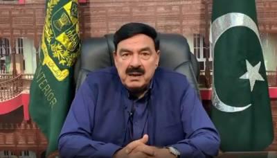 وزیر داخلہ شیخ رشید احمد کی سبی میں ایف سی کی پٹرولنگ پارٹی پر دہشتگردی کی شدید مذمت