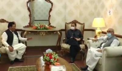 وزیراعلیٰ پنجاب سے پنجاب اسمبلی میں اراکین صوبائی اسمبلی کی ملاقاتیں