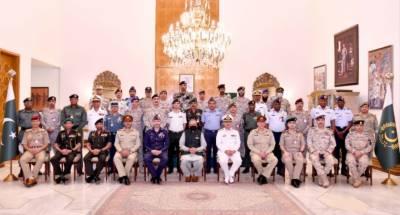 صدر مملکت ڈاکٹر عارف علوی سے نیشنل سیکورٹی ورکشاپ کورس کےغیرملکی شرکاء کی ملاقات