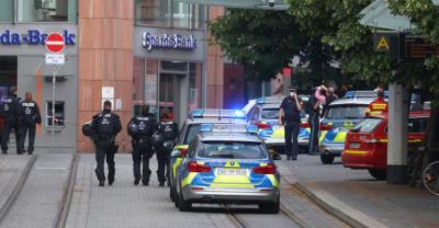 جرمنی میں چاقو بردار شخص کا حملہ، تین شہری ہلاک متعدد زخمی