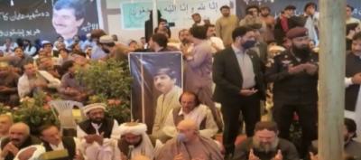 وزیراعلیٰ بلوچستان کی عثمان کاکڑ کےگھر آمد، فاتحہ خوانی اور لواحقین سے اظہار تعزیت