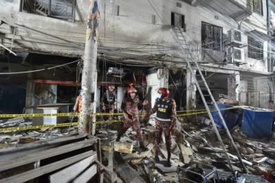 بنگلہ دیش کے دارالحکومت ڈھاکا میں دھماکہ،7 افراد ہلاک،متعدد زخمی