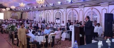 سیالکوٹ : ممتاز قانون دان منیب حسین وڑائچ ایڈووکیٹ کا ہائی کورٹ کے اسپیشلسٹ ایڈووکیٹ جنرل پنجاب مقرر ہونا بہتر ہے، خواجہ اویس مشتاق ایڈووکیٹ