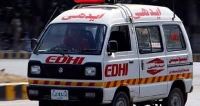 کراچی:مائی کولاچی کے قریب ٹریفک حادثہ،ایک شخص جاں بحق