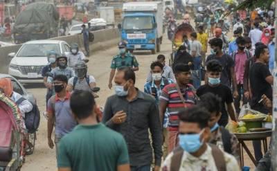 بنگلادیش میں کوروناوائرس بےقابو، دوبارہ لاک ڈاﺅن کا اعلان