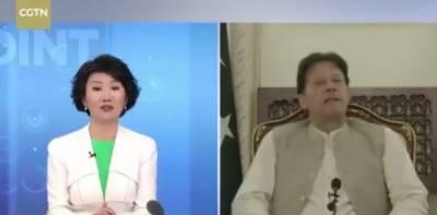 وزیراعظم عمران خان کا چینی ٹی وی کو انٹرویو، چینی نظام حکومت کی تعریف