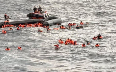 اٹلی میں تارکین وطن کی کشتی ڈوب گئی، 7 افراد جاں بحق