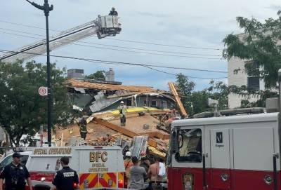 واشنگٹن:زیر تعمیر عمارت کا ایک حصہ گرگیا، مزدور ہلاک