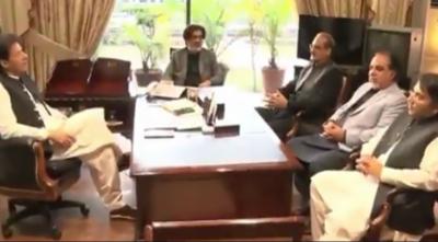 وزیراعظم کی سندھ میں وفاق کے ترقیاتی منصوبوں پر پیش رفت بارے تبادلہ خیال